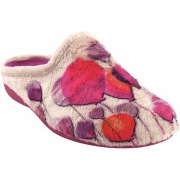 Sapatos Mulher Chinelos Gema Garcia Vá para casa Sra.  7100-74 bege Rouge