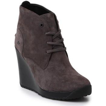 Sapatos Mulher Botins Lacoste Jarriselle Srw DK Cinzento