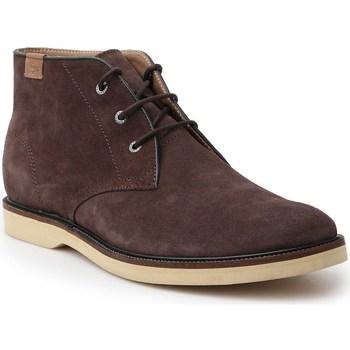 Sapatos Homem Botas baixas Lacoste Sherbrooke HI Castanho