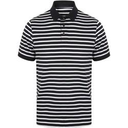 Textil Homem Polos mangas curta Front Row FR230 Marinha/ Branco