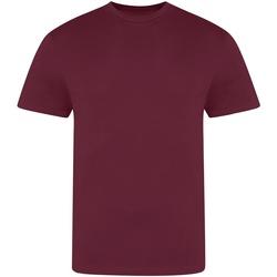 Textil Homem T-Shirt mangas curtas Awdis JT100 Borgonha