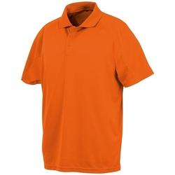 Textil Polos mangas curta Spiro SR288 Flo Orange