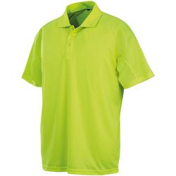 Textil Polos mangas curta Spiro SR288 Flo Yellow