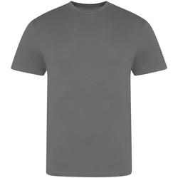 Textil Homem T-Shirt mangas curtas Awdis JT100 Carvão vegetal