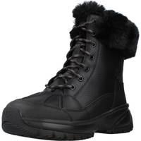 Sapatos Mulher Botas UGG Yose Fluff Preto