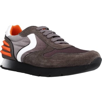 Sapatos Rapaz Sapatilhas Voile Blanche LIAM POWER LACCIO Marron