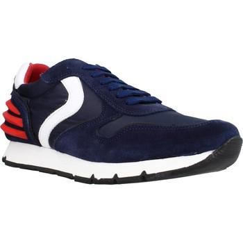 Sapatos Rapaz Sapatilhas Voile Blanche LIAM POWER LACCIO Azul