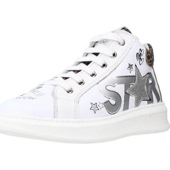 Sapatos Rapariga Sapatilhas Naturino TISBE ZIP Branco