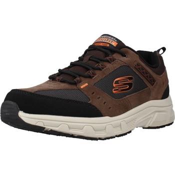 Sapatos Homem Sapatilhas Skechers OAK CANYON Marron