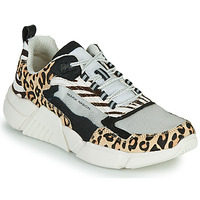 Sapatos Mulher Sapatilhas Skechers BLOCK - WEST Bege