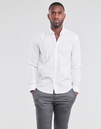 Textil Homem Camisas mangas comprida BOTD OMAN Branco