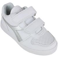 Sapatos Rapariga Sapatilhas Diadora playground ps girl c0516 Prata