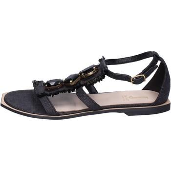 Sapatos Mulher Sandálias Jeannot Sandálias BK788 Preto