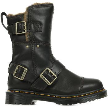 Sapatos Mulher Botas de neve Dr Martens Kristy Mid FL Castanho