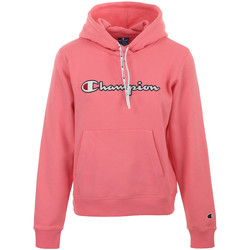 Textil Mulher Sweats Champion Hooded Sweatshirt Wn's Rosa