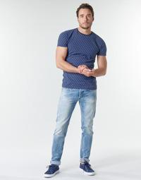 Textil Homem Calças Jeans Replay WIKKBI Super / Azul