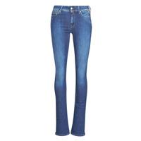 Textil Mulher Calças de ganga bootcut Replay LUZ Super / Azul