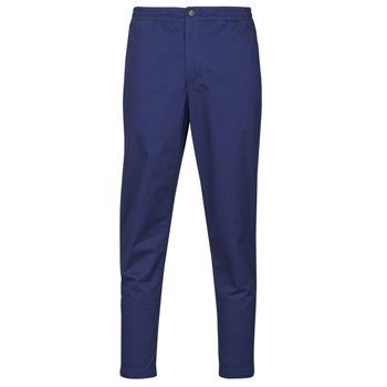 Textil Homem Calças Polo Ralph Lauren PANTALON CHINO PREPSTER AJUSTABLE ELASTIQUE AVEC CORDON INTERIEU Navy