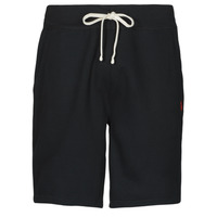Textil Homem Shorts / Bermudas Polo Ralph Lauren SHORT MOLTONE EN COTON LOGO PONY PLAYER Preto