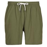 Textil Homem Fatos e shorts de banho Polo Ralph Lauren MAILLOT SHORT DE BAIN EN NYLON RECYCLE, CORDON DE SERRAGE ET POC Cáqui