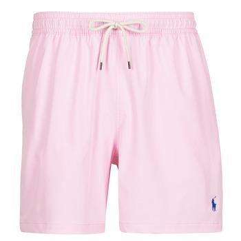 Textil Homem Fatos e shorts de banho Polo Ralph Lauren MAILLOT SHORT DE BAIN EN NYLON RECYCLE, CORDON DE SERRAGE ET POC Rosa