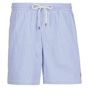 Textil Homem Fatos e shorts de banho Polo Ralph Lauren MAILLOT SHORT DE BAIN RAYE SEERSUCKER CORDON DE SERRAGE ET POCHE Azul