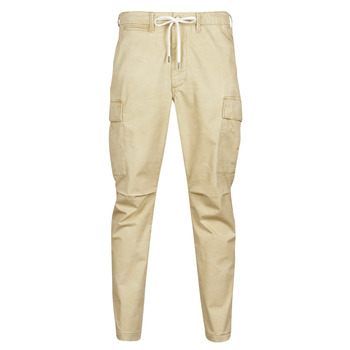 Textil Homem Calça com bolsos Polo Ralph Lauren SHORT PREPSTER AJUSTABLE ELASTIQUE AVEC CORDON INTERIEUR LOGO PO Bege