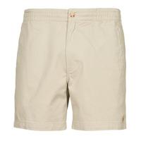Textil Homem Shorts / Bermudas Polo Ralph Lauren SHORT PREPSTER AJUSTABLE ELASTIQUE AVEC CORDON INTERIEUR LOGO PO Bege