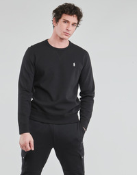 Textil Homem Sweats Polo Ralph Lauren SWEATSHIRT COL ROND EN JOGGING DOUBLE KNIT TECH LOGO PONY PLAYER Preto