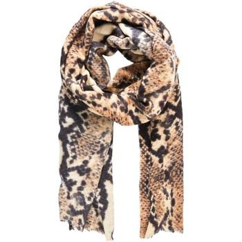 Textil Mulher Gravatas e acessórios Pieces PCSNAKY LONG SCARF beige