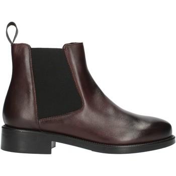 Sapatos Mulher Botas baixas Frau 98L3 Vermelho