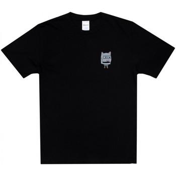 Textil Homem T-Shirt mangas curtas Ripndip Bionic nerm tee Preto