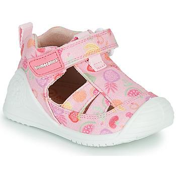 Sapatos Rapariga Sandálias Biomecanics 212212 Rosa