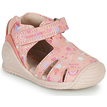 Sapatos Rapariga Sandálias Biomecanics 212107 Rosa