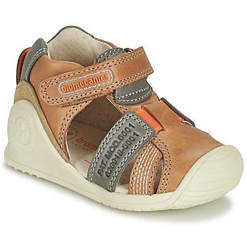 Sapatos Rapaz Sandálias Biomecanics 212135 Conhaque