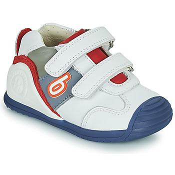 Sapatos Rapaz Sapatilhas Biomecanics 202148 Branco / Azul / Vermelho