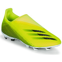 Sapatos Criança Chuteiras adidas Performance X GHOSTED.3 LL FG J Amarelo / Preto