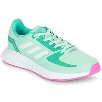 Sapatos Rapariga Sapatilhas adidas Performance RUNFALCON 2.0 K Turquesa / Rosa