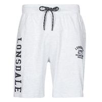 Textil Homem Shorts / Bermudas Lonsdale KNUTTON Cinza