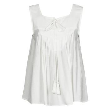 Textil Mulher Tops sem mangas See U Soon 21111205B Branco