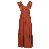 Textil Mulher Vestidos compridos See U Soon 21121116 Vermelho