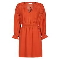 Textil Mulher Vestidos curtos See U Soon 21122109 Vermelho