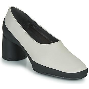 Sapatos Mulher Escarpim Camper UPRIGHT Bege / Preto