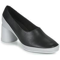 Sapatos Mulher Escarpim Camper UPRIGHT Preto / Branco