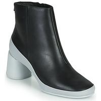 Sapatos Mulher Botins Camper UPRIGHT Preto / Branco