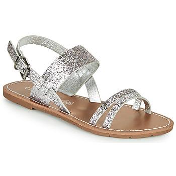 Sapatos Mulher Sandálias Chattawak MONIA Prateado