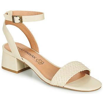 Sapatos Mulher Sandálias Chattawak MUSCADE Creme