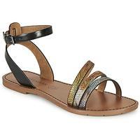 Sapatos Mulher Sandálias Chattawak PAGO Preto / Multicolor
