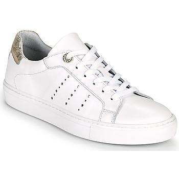 Sapatos Mulher Sapatilhas Myma PEGGUI Branco / Ouro