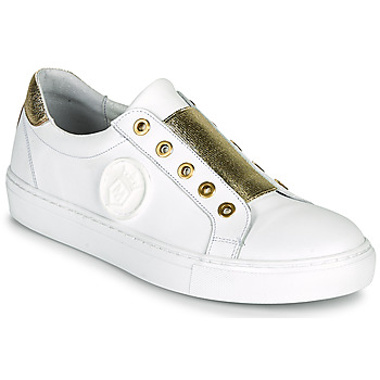 Sapatos Mulher Sapatilhas Myma PAGGI Branco / Dourado